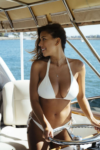 Devin Brugman & Natasha Oakley sexy bikini photo shoot Esquire magazine
