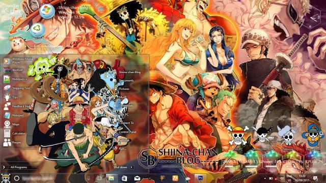 Windows 10 Ver. 1709 Theme One Piece by Enji Riz