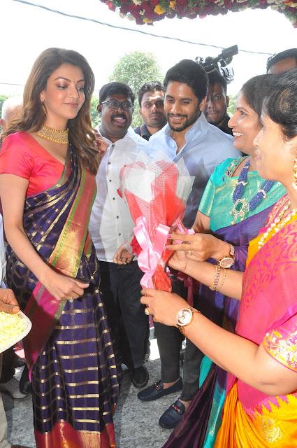 Kajal-Aggarwal-And-Naga-Chaitanya-Inaugurates-Chennai-Shopping-Mall-Photos-6