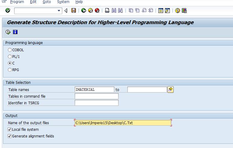What is Table Description Generator | SAP-ABAP