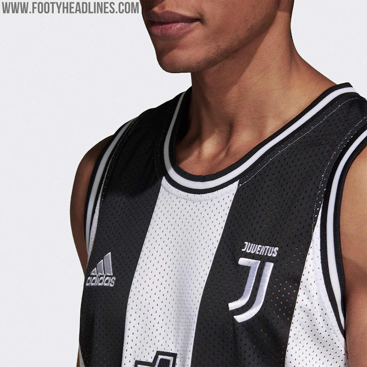 best website 54482 ca497 Adidas Juventus 18-19 Basketball Jersey Released - Footy ...