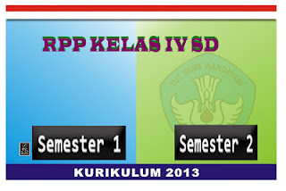 Download RPP Kelas 4 Kurikulum 2013