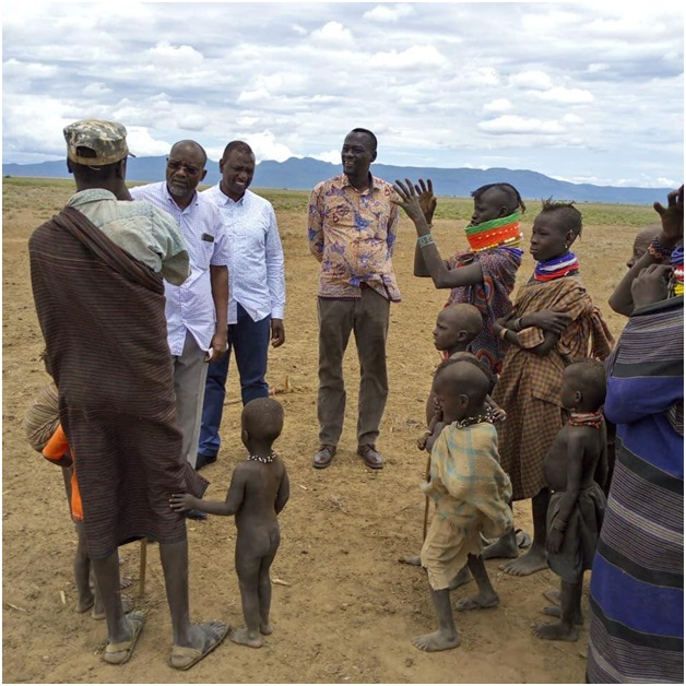 Image result for ruto and poor turkana kids