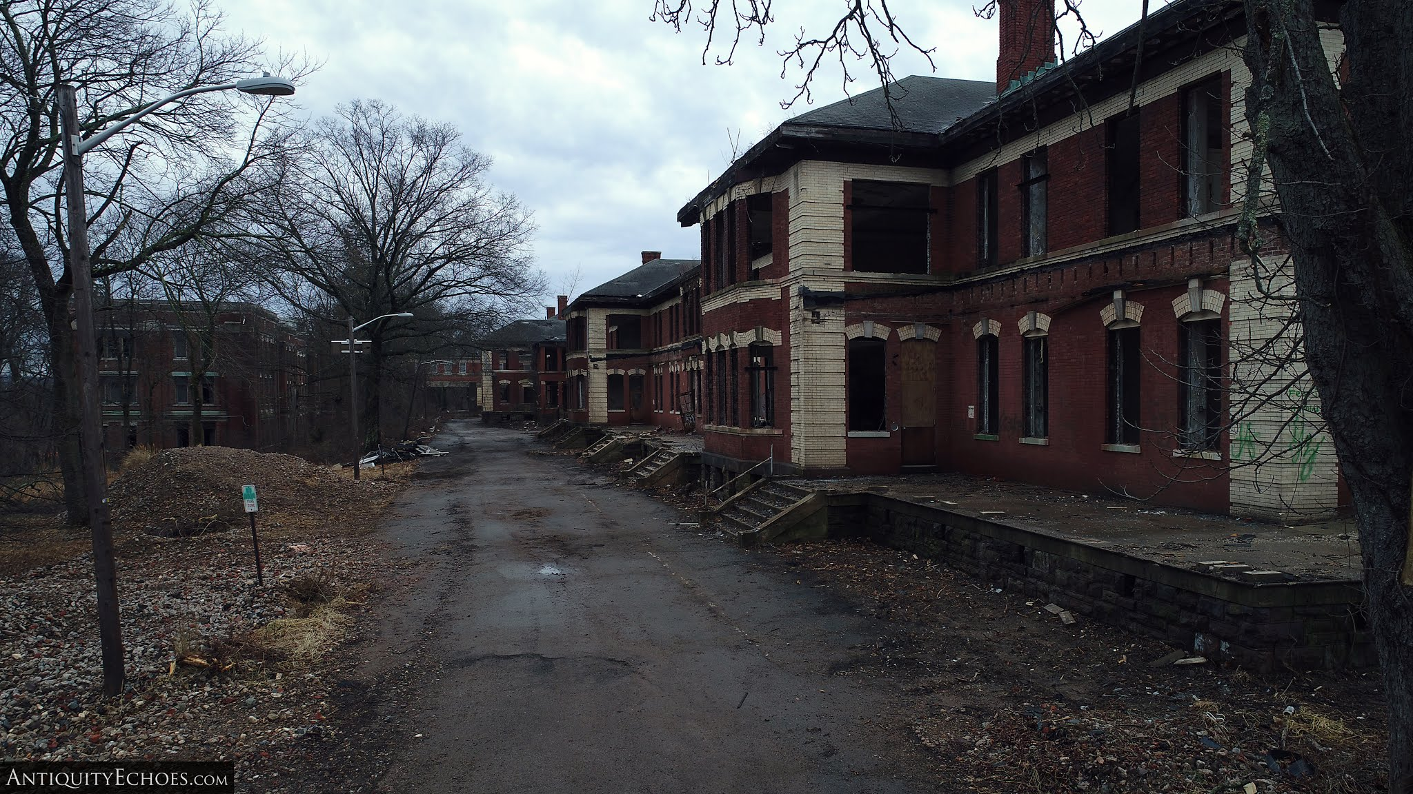 Overbrook Asylum - Dead and Awaiting Burial