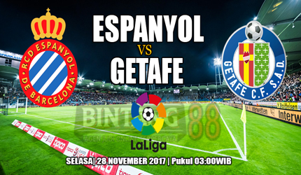 Prediksi Skor Espanyol vs Getafe 28 November 2017
