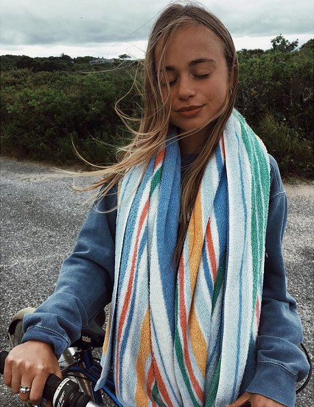 Fashionable royal, Lady Amelia Windsor visited Martha's Vineyard in Massachusetts for holiday