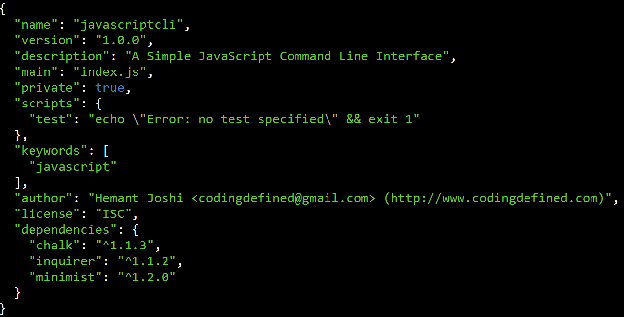 How to create Simple JavaScript CLI with Node js - Coding Defined