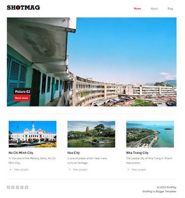 ShotMag – Template Blog Minimalis Responsive untuk Blog Foto