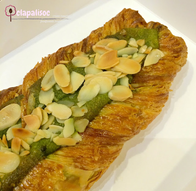 Almond and Matcha Twist from Wildflour Café + Bakery