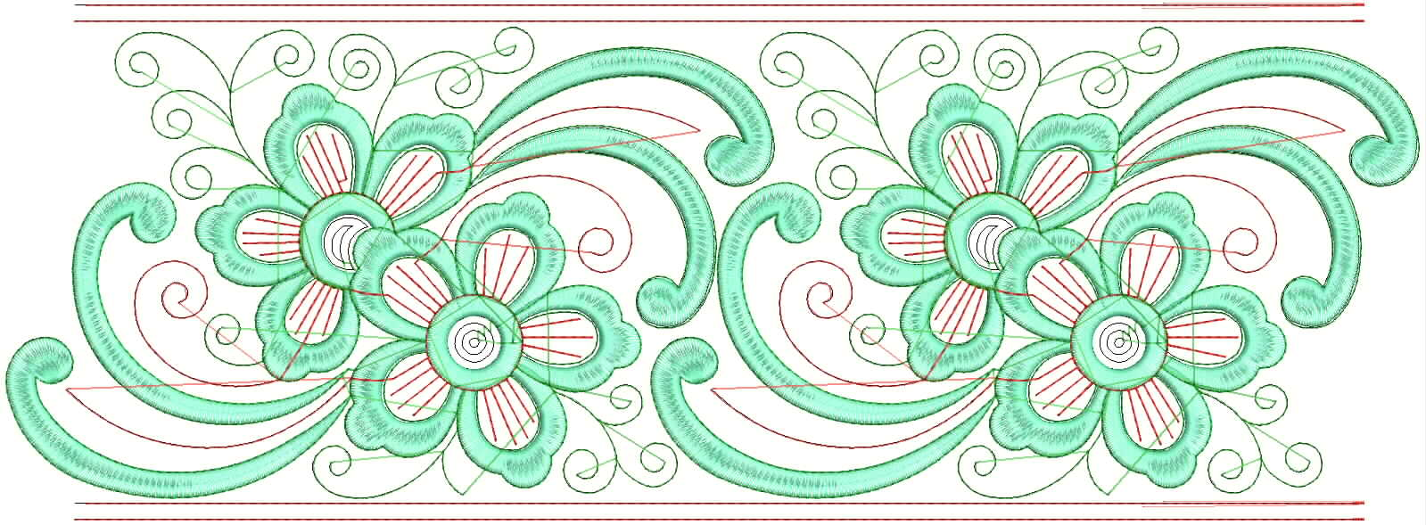 How To Machine Embroidery Lace Designs