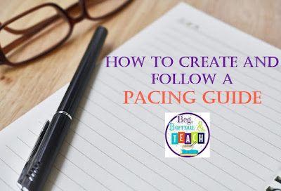 How to Create and Follow a Pacing Guide