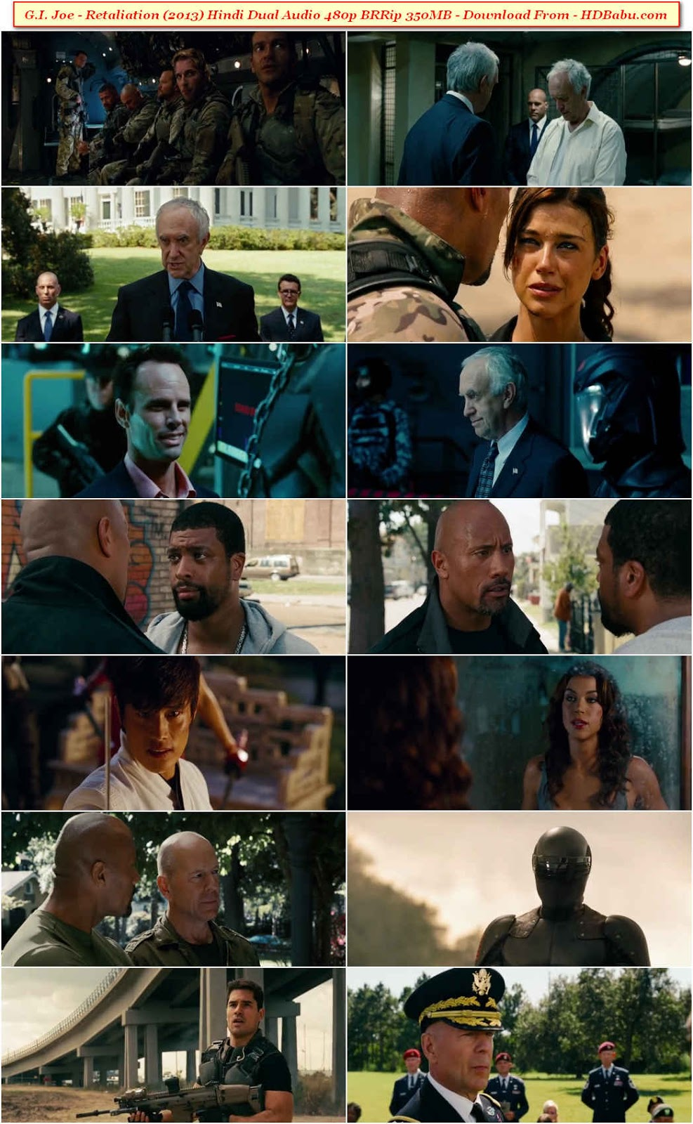G I Joe - Retaliation Dual Audio Movie Download