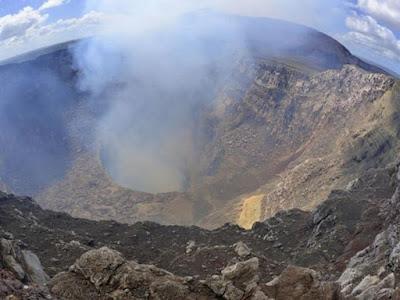 Gunung Berapi Mulut Neraka Mendapat Koneksi WiFi