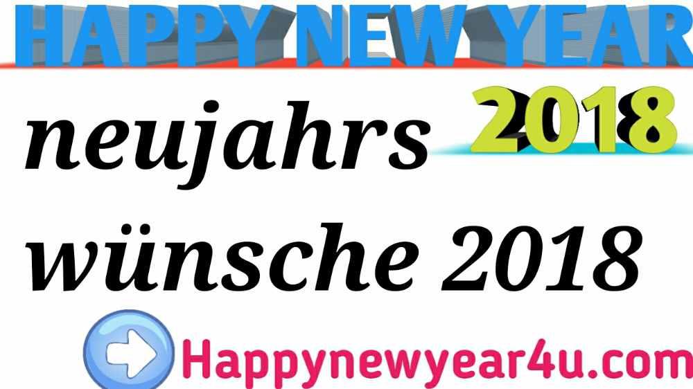 neujahrswünsche 2018 originell, lustig, kurz, geschäft Frohes neues ...