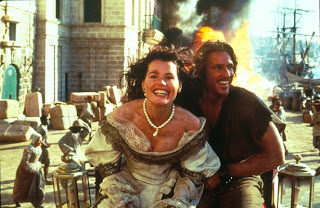 Geena Davis Matthew Modine Cutthroat Island 1995 pirate movie