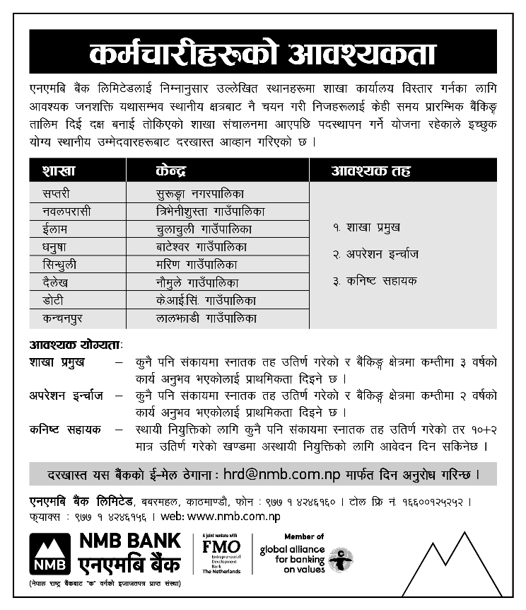 nmb bank full form