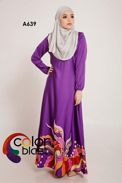 Jubah Dress Murah Dari Color Blast Closet