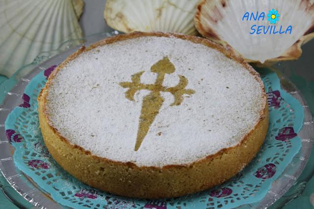 Tarta de Santiago (Sin base) Thermomix, tradicional y olla GM Ana Sevilla