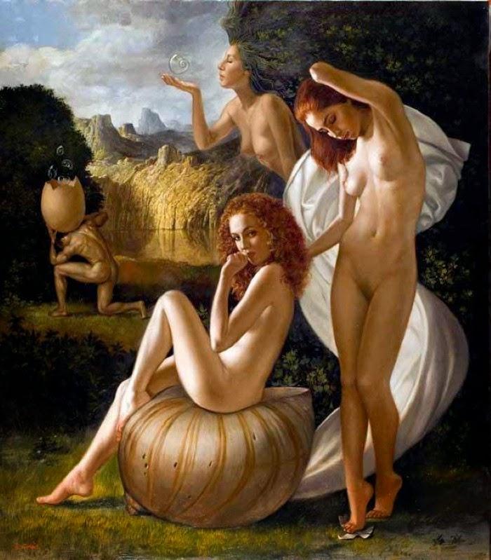 Итальянский художник-реалист. Bruno Di Maio
