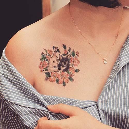kedi dövmeleri cat tattoos 58