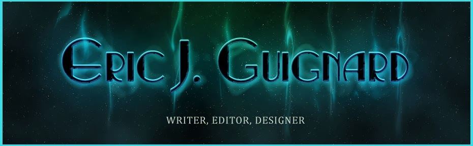 Blogspot for writer, Eric J. Guignard.