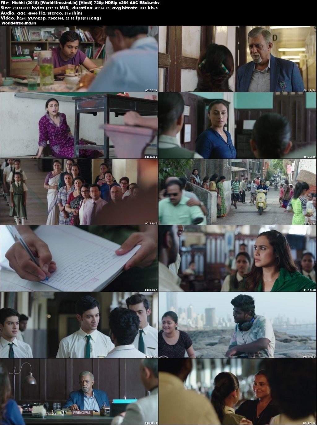 Hichki 2018 world4free.ind.in Full HDRip 720p Hindi Movie Download