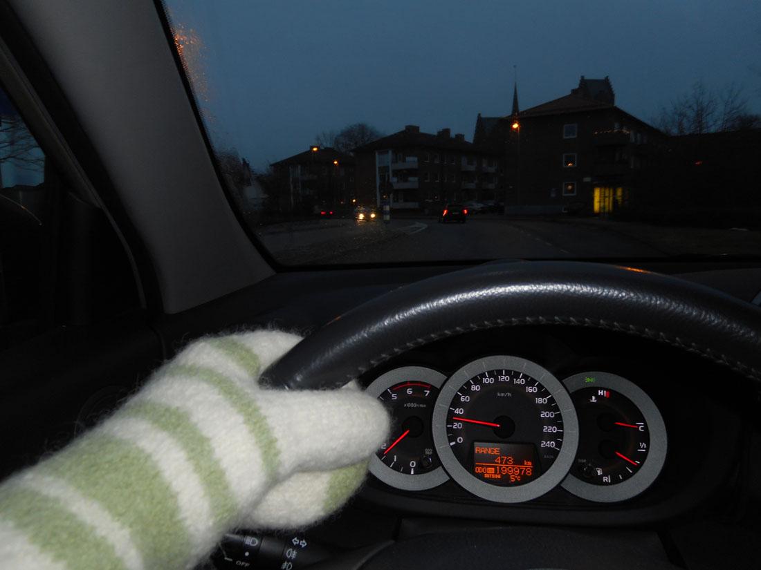 Guida con le muffole