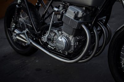 Honda CB 750 Custom exhaust 4-4