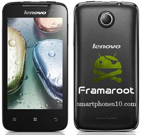 Cara Root Smartphone Lenovo A390