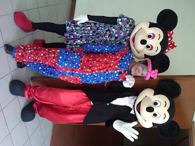 Badut ulang tahun, MC badut, Badut ultah, dan badut karakter disney (Mickey mouse & minnie mouse))