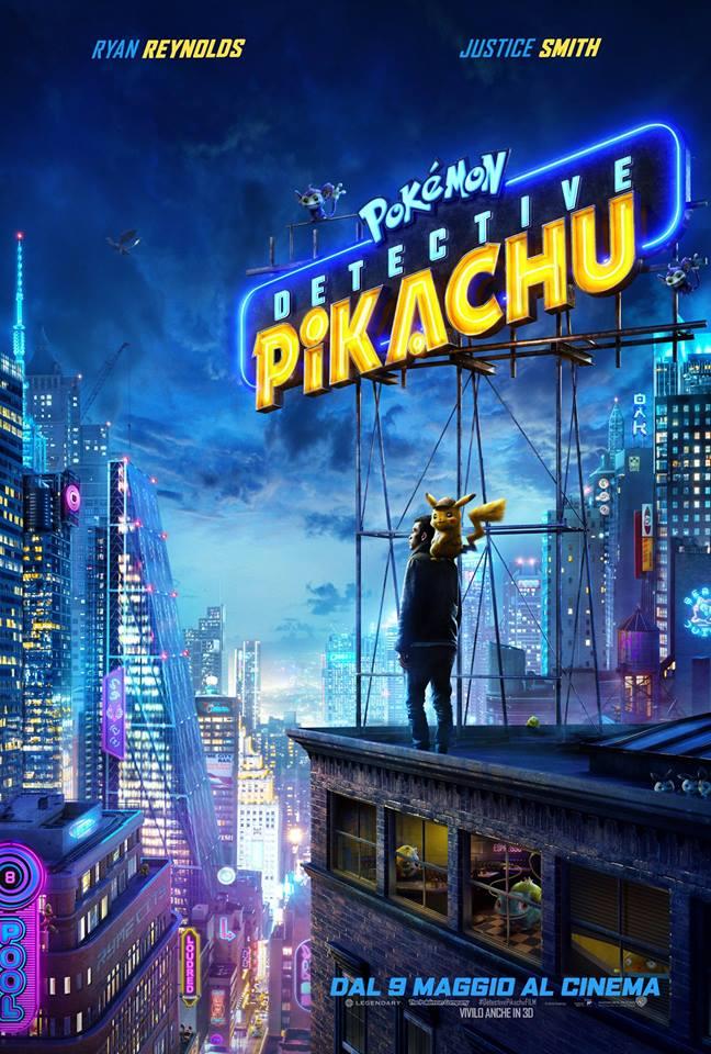 Pokémon Detective Pikachu Il FILM dal 9 Maggio al cinema