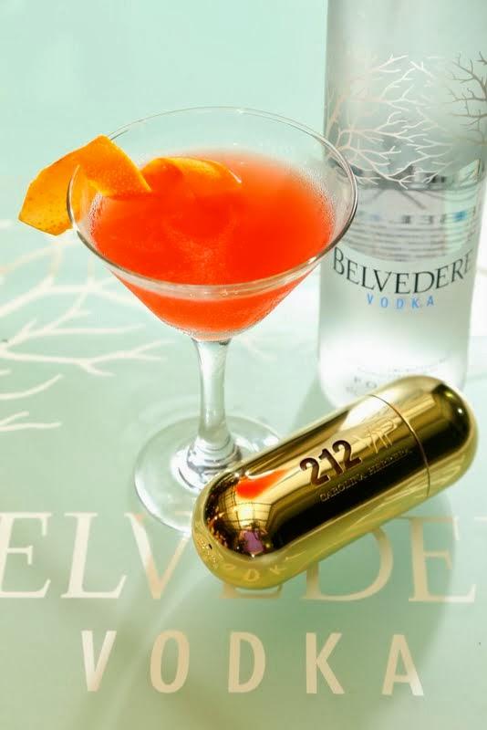 Chasing Food Dreams Belvedere Vodka With Carolina Herrera