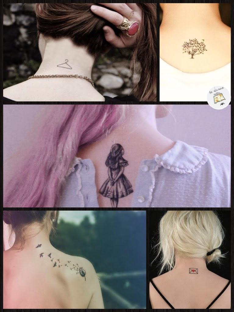 Tatuaggi: quelli fashion sono piccoli - Le Stanze della Moda