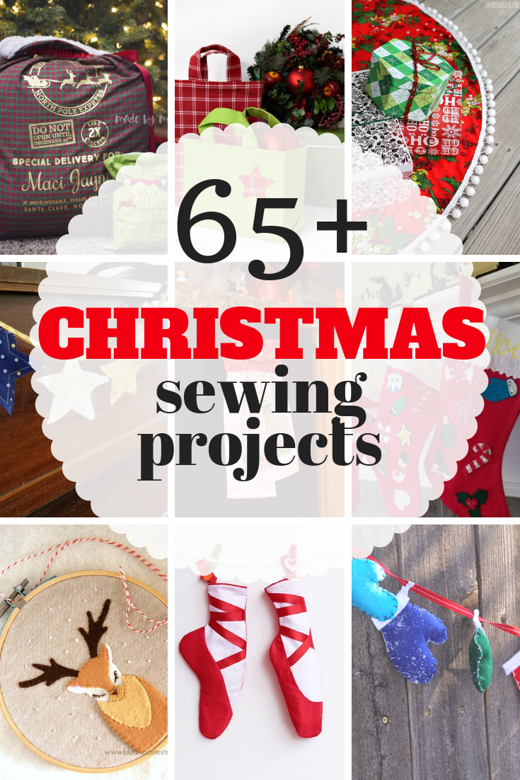 giant list of christmas sewing projects for beginner sewers to advanced loads of fun free