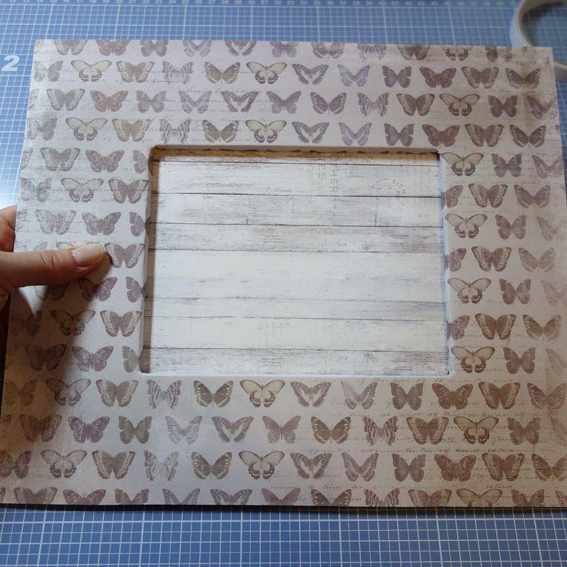Gut gemocht DIY Challenge - Bilderrahmen aus Pappe basteln {Foto kreativ in XK93