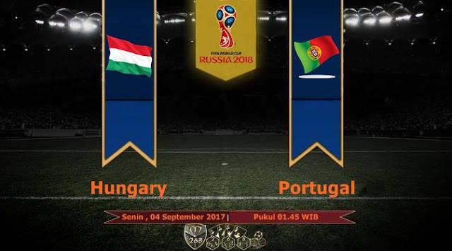 Prediksi Bola : Hungary Vs Portugal , Senin 04 September 2017 Pukul 01.45 WIB