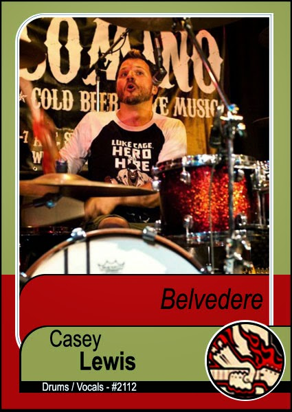 <center>Belvedere replaces drummer</center>