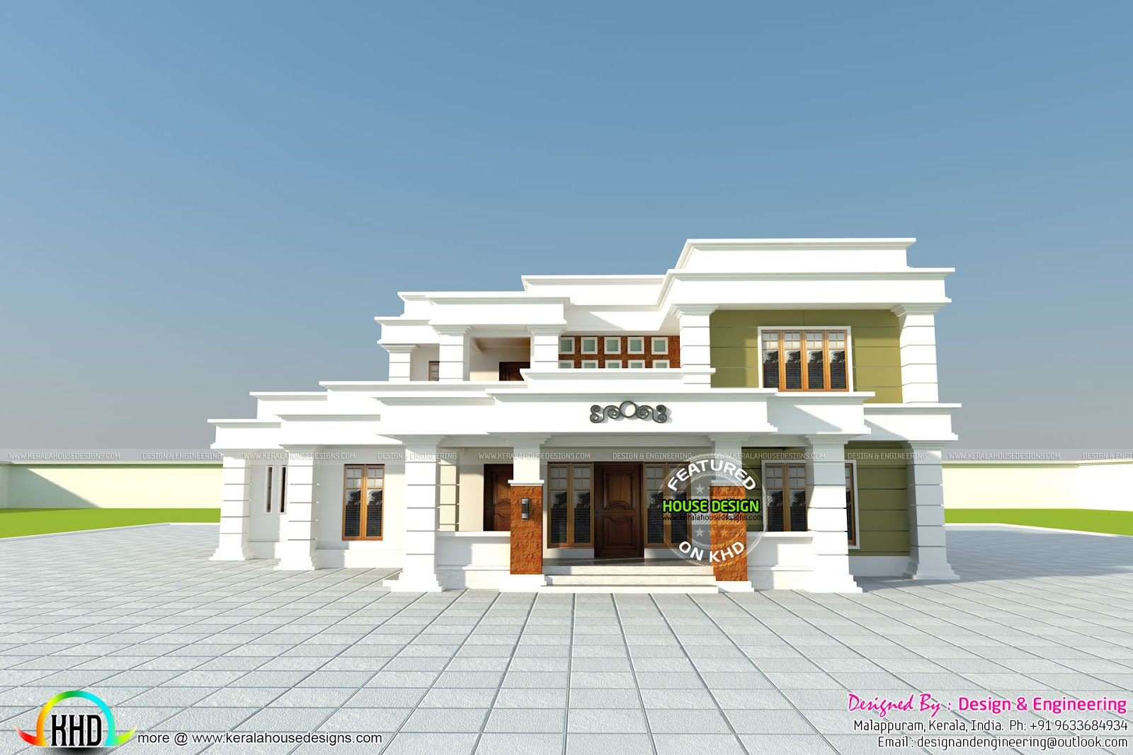 Home Design Engineer Painting Classy April 2016  Kerala Home Design And Floor Plans Inspiration Design