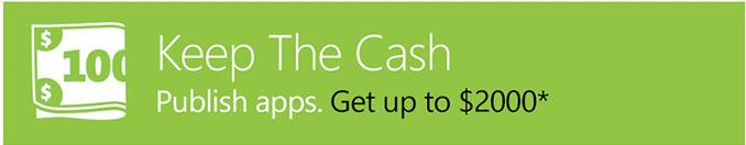 Keep the cash microsoft pays to develop applications