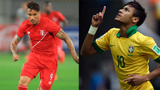 Brasil vs Perú en Copa América Centenario