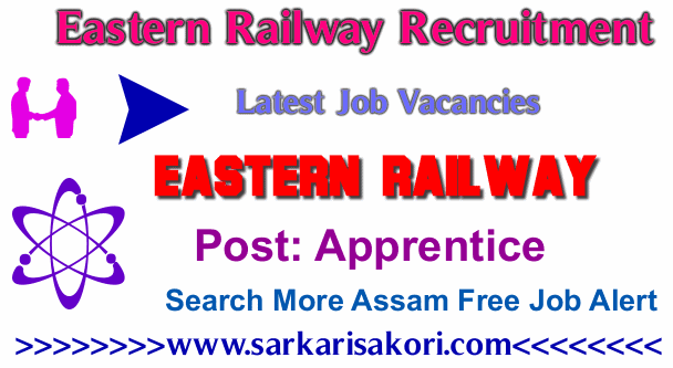Eastern Railway Recruitment 2017 Apprentice