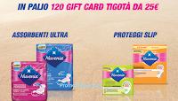 Logo ''25 euro da spendere in bellezza'': con Nuvenia vinci 120 Gift Card Tigotà da 25€
