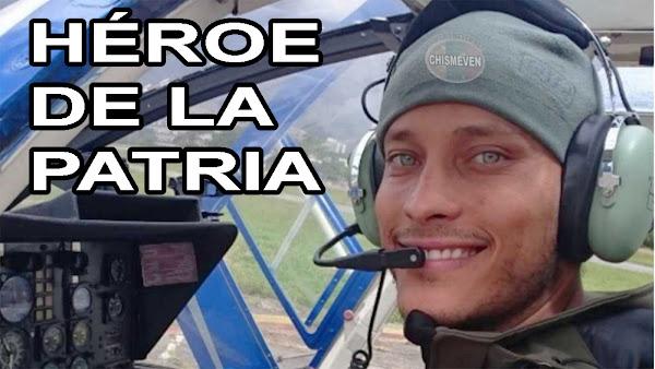 Congreso de Perú homenajeó al Héroe Oscar Perez