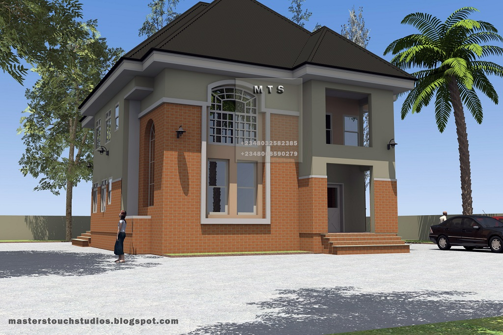5 bedroom duplex modern and contemporary nigerian building designs for How much to build a 5 bedroom house