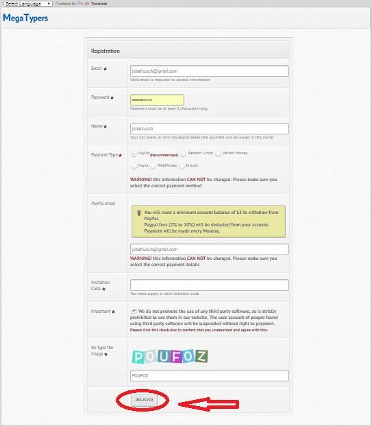 Kerja online di megatypersprotypers job online untuk invitation code silahkan anda isi dengan hj00 hj09 hj9 pilih salah satu stopboris Images