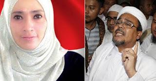 WismaQQ.com | Isu Habib Rizieq Selingkuh Dengan Firza Husein, Pendukung Ahok Justru Bela Imam Besar FPI