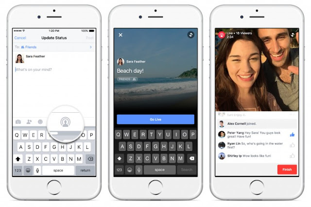 Tip: how to Post the Live Photos on Facebook