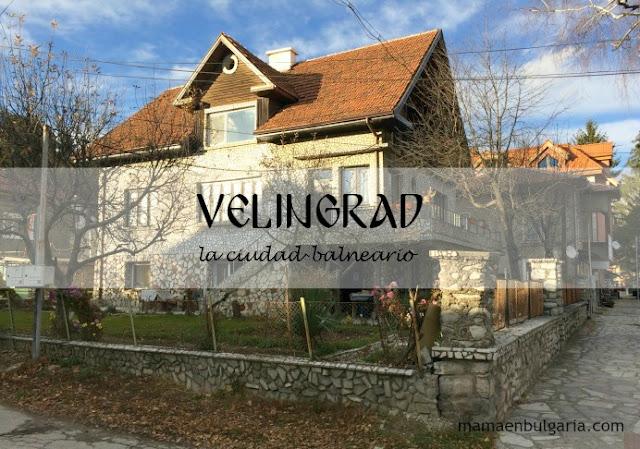 Velingrad, la ciudad balneario, Bulgaria