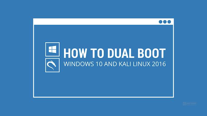 Cài đặt Kali Linux dual boot Windows