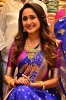 Pragya Jaiswal in colorful Saree looks stunning at inauguration of South India Shopping Mall at Madinaguda ~  Exclusive Celebrities Galleries 004.jpg